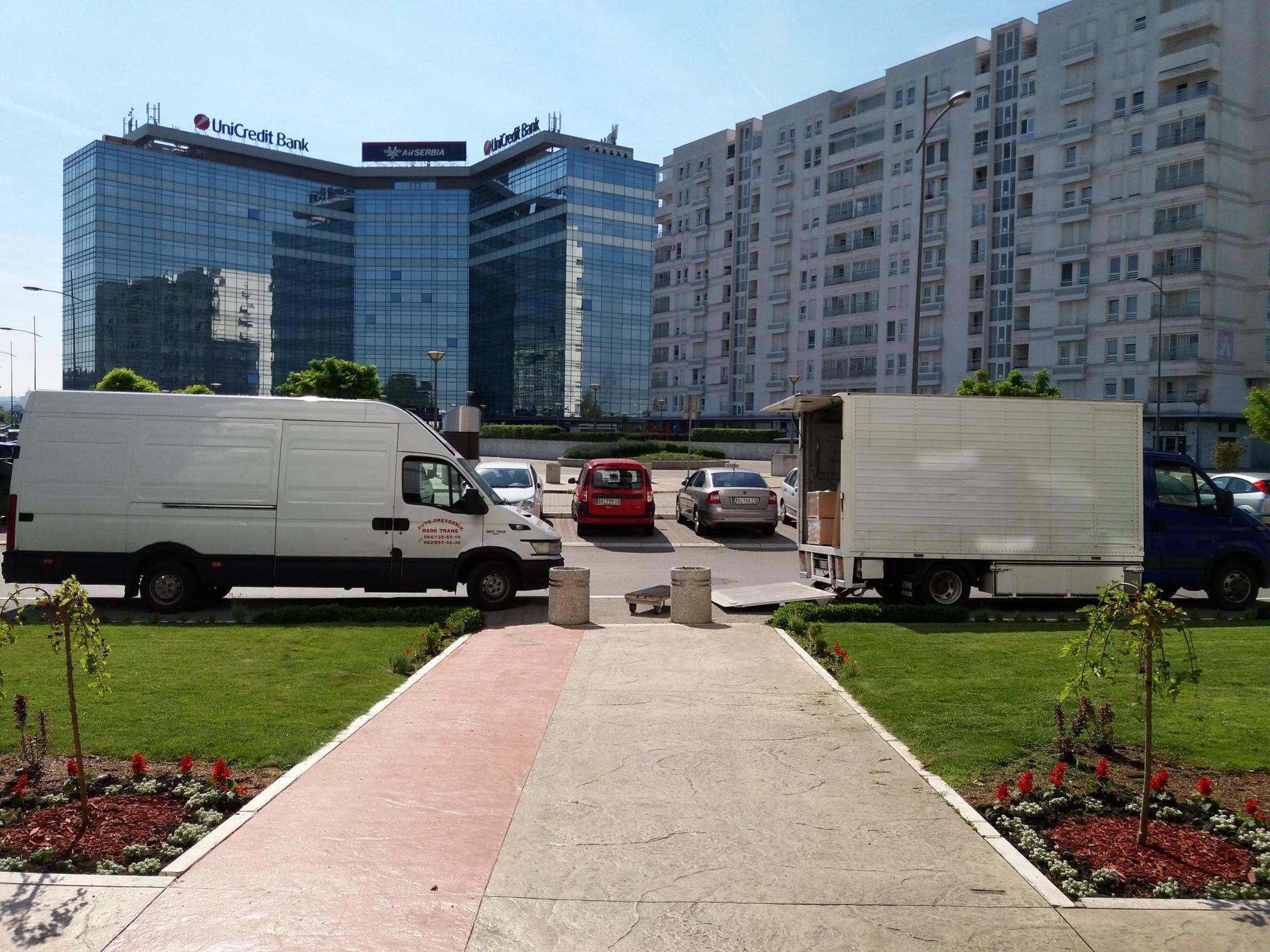 Kombi Selibde - Rade Trans deo voznog parka 2