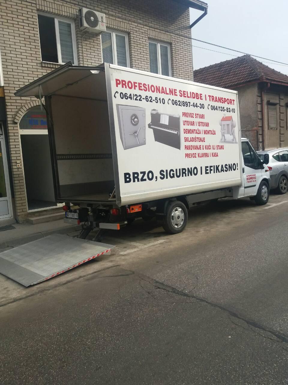 Kombi Selibde - Rade Trans kamion za selidbe