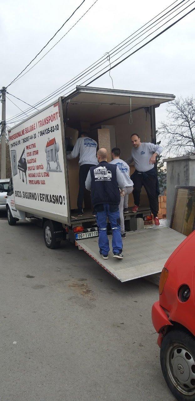 kamionske selidbe beograd