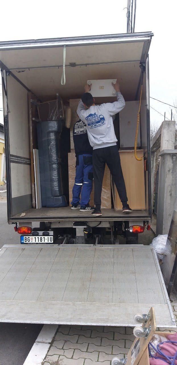 selidbe kamionom